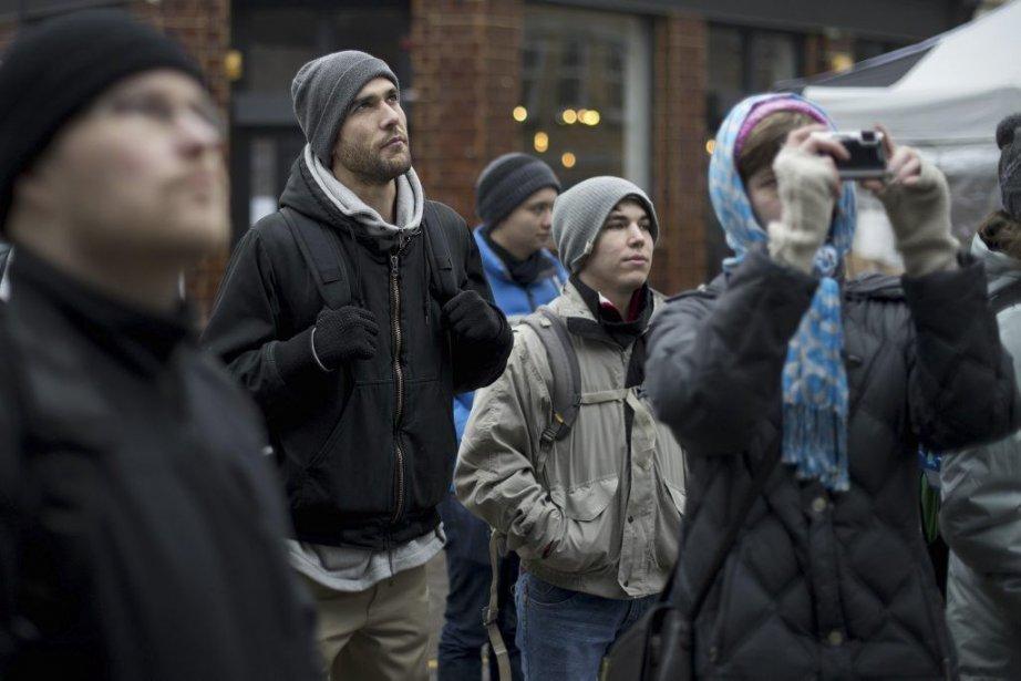 Karin Samuels (deuxième à gauche) est directeur de... (Photo: AFP)