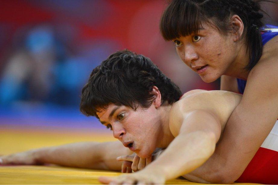 Martine Dugrenier a représenté le Canada aux Jeux... (Photo: Yuri Cortez, AFP)