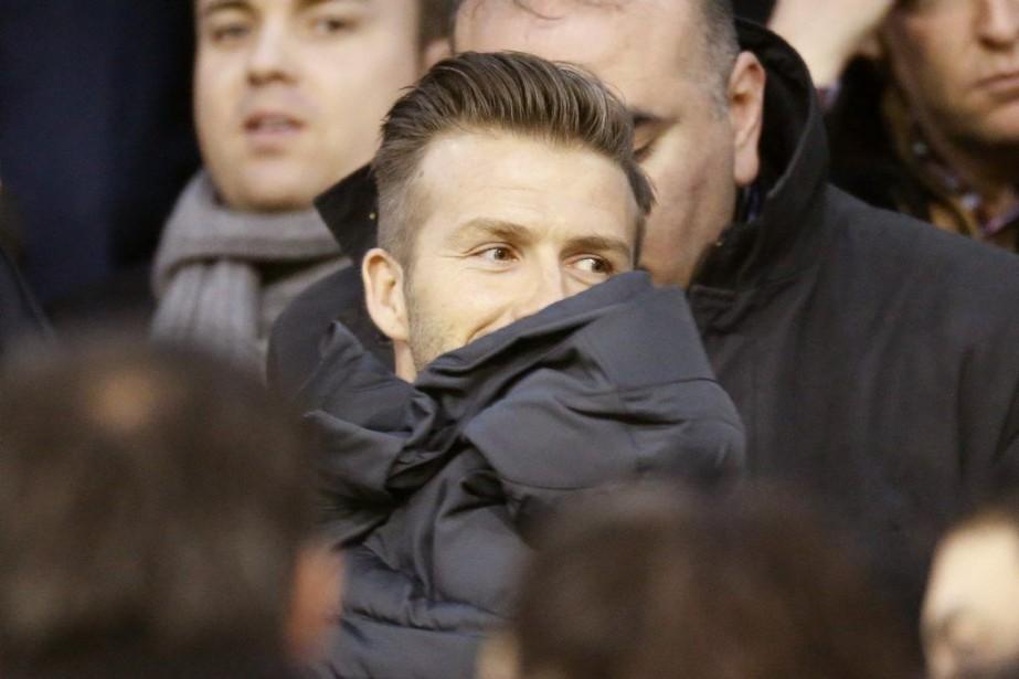 David Beckham... (Photo Reuters)