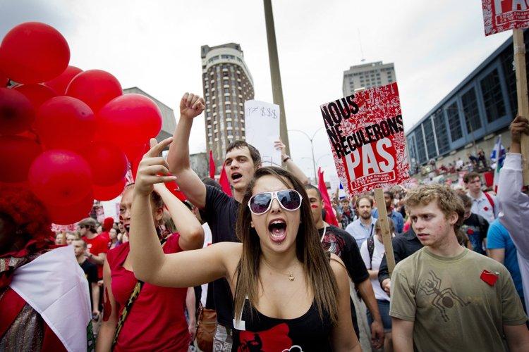 À pareille date l'an dernier, le Québec... (Photo: Marco Campanozzi, La Presse)