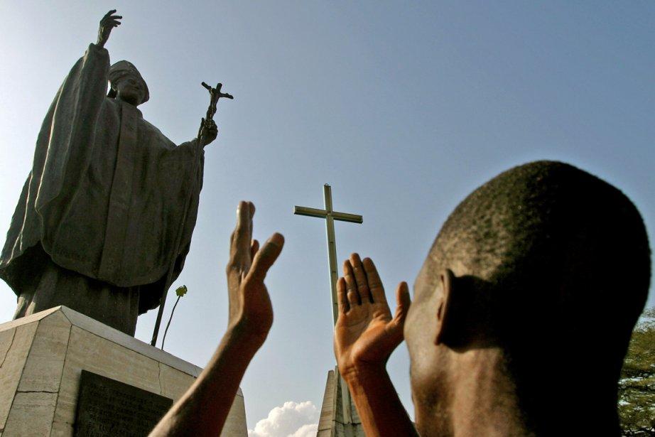 Unpapeissudutiers-monde mettrait sans doute l'accent sur la lutte... (Photo Reuters)