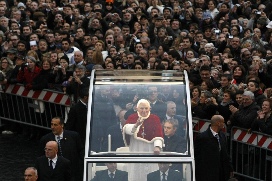 Le conclave des cardinaux qui éliront le prochain... (Archives AP)