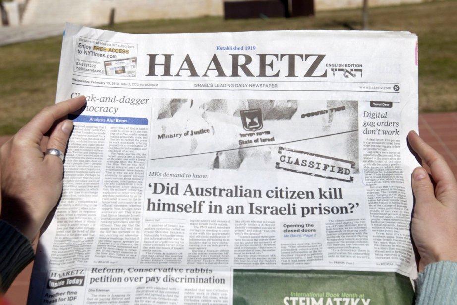 La censure israélienne avait interdit mardi de relayer... (PHOTO AHMAD GHARABLI, AFP)