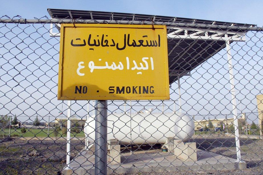 Le site d'enrichissement d'uranium de Natanz dans le... (PHOTO ZOREH SOLEIMANI, ARCHIVES BLOOMBERG NEWS)