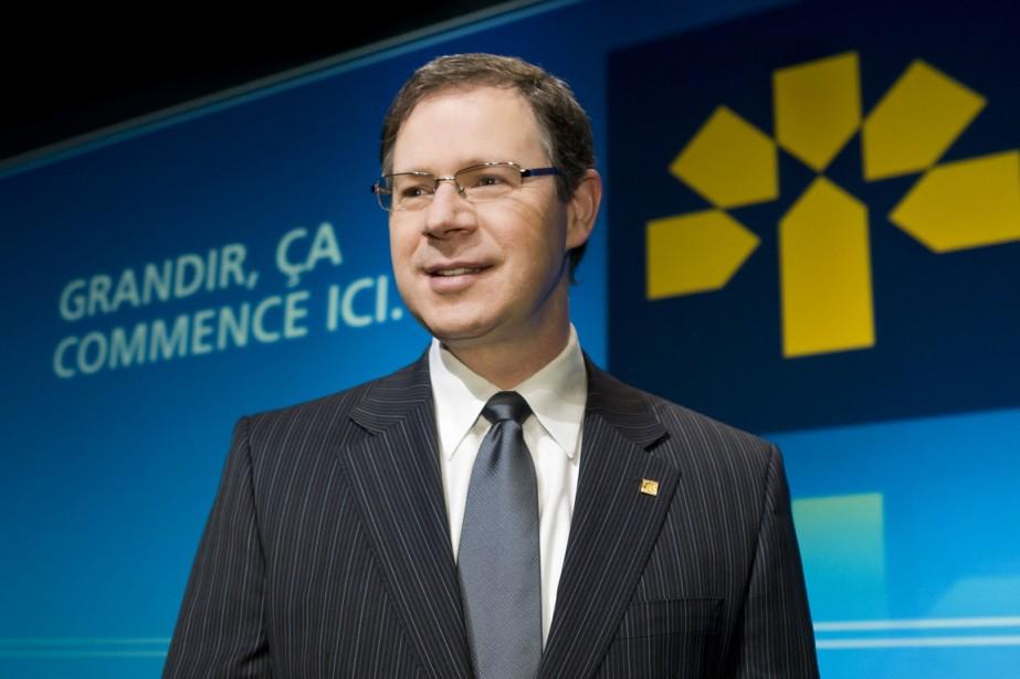Le PDG de la Banque Laurentienne, Réjean Robitaille.... (Photo CNW / Banque Laurentienne du Canada)