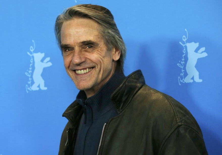 Jeremy Irons, vedette de Night Train to Lisbon. | 13 février 2013