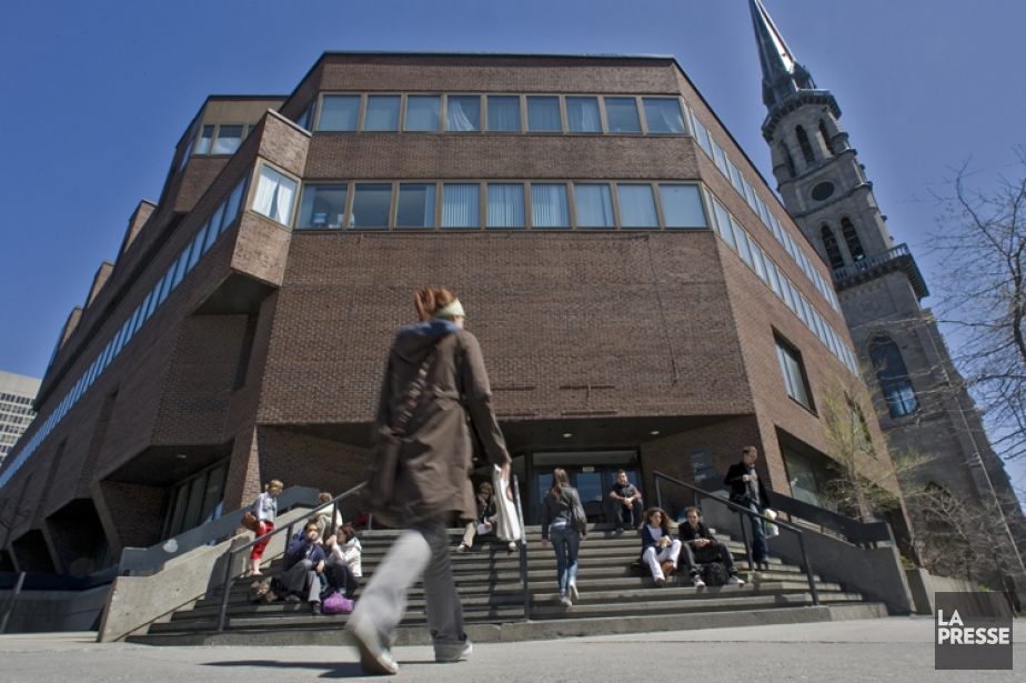 Le pavillon Judith-Jasmin de l'Université du Québec à... (Photo: Patrick Sanfaçon, La Presse)