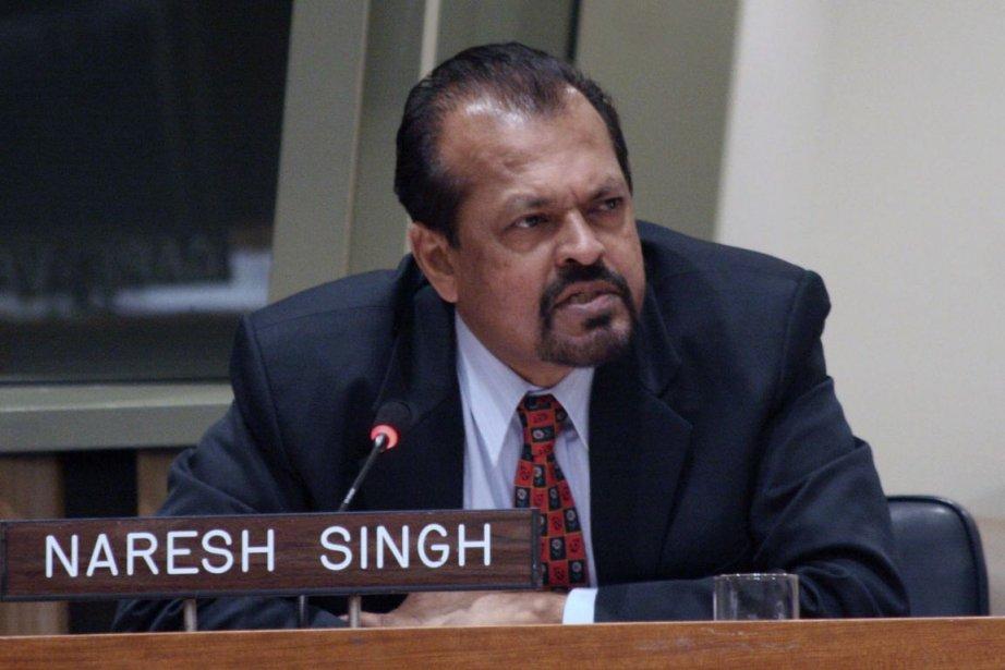 Naresh Singh, ex-Directeur de l'ACDI... (PHOTO ARCHIVES LA PRESSE)
