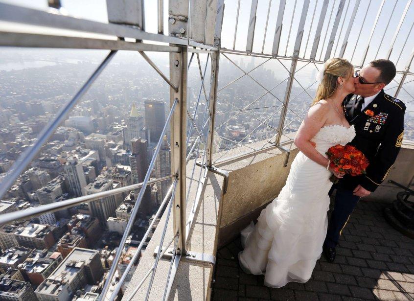 Empire State Building, à New York. | 14 février 2013