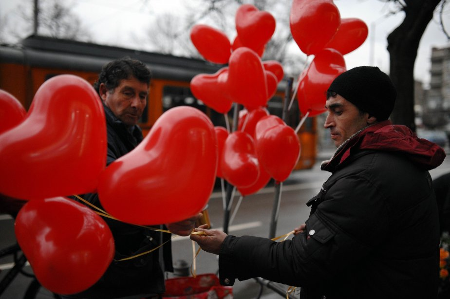 Sofia, en Bulgarie. | 14 février 2013