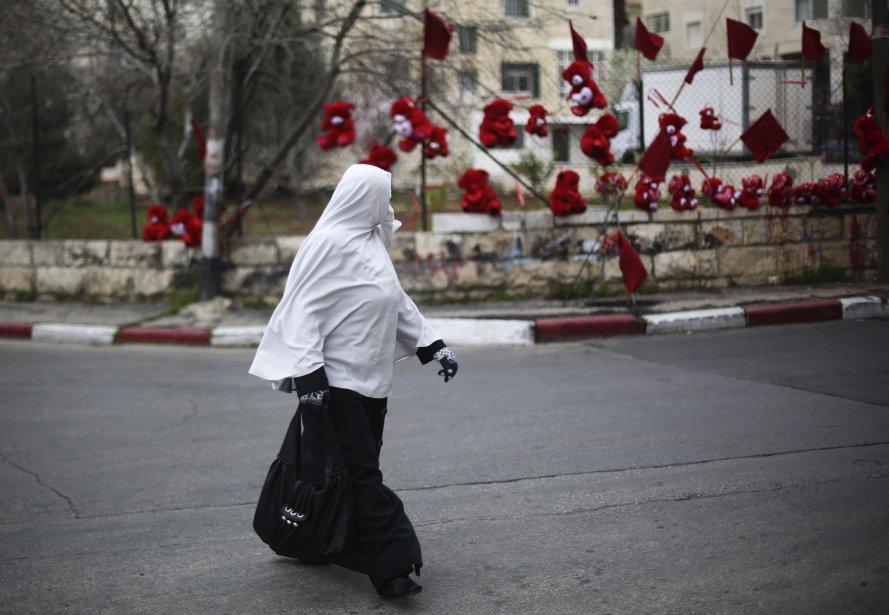 Ramallah, en Palestine. | 14 février 2013