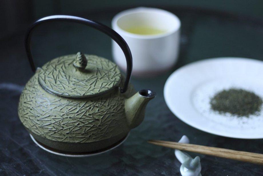 Le long de la rue principale Odawara, au mont Koya, une petite pause s'impose pour déguster un thé sencha. (Photo Sylvain Sarrazin, La Presse)
