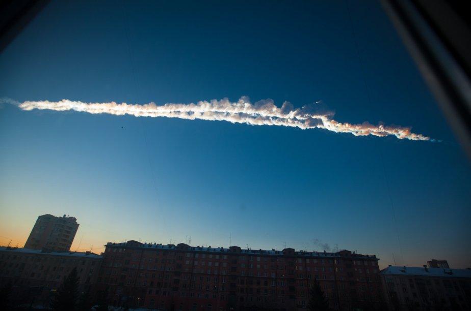 Plusieurs résidants de la ville de Tcheliabinsk, à...