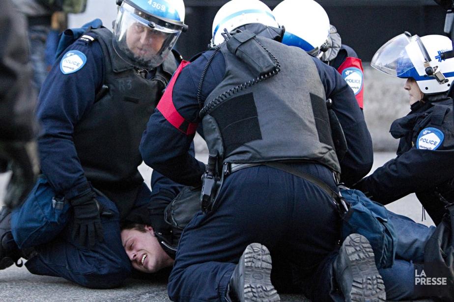 Plus de 230 personnes ont été arrêtées à... (Photo archives La Presse)