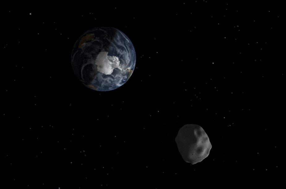 L'astéroïde «2012 DA14», qui va frôler la Terre... (Image: NASA/JPL-Caltech)