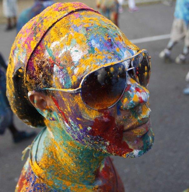 Un participant au carnaval de Trinidad. | 15 février 2013