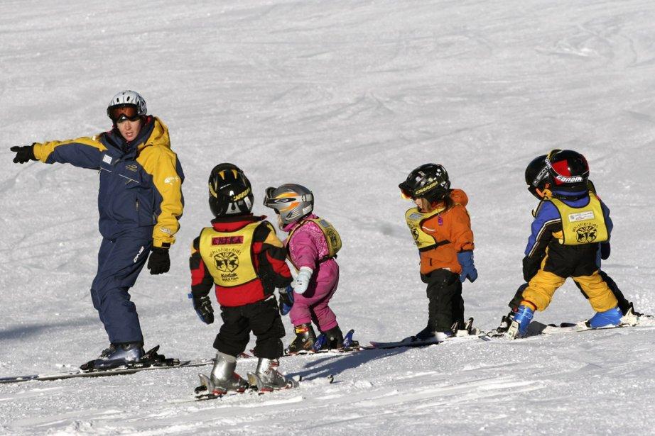 Depuis la semaine dernière, une station de ski... (Photo Robin O'Neill, AP)