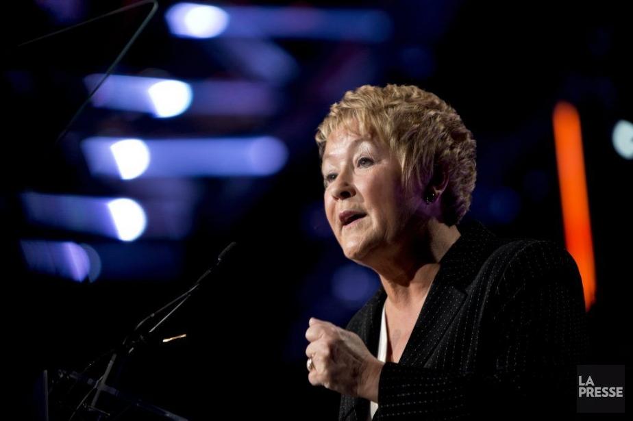 La première ministre Pauline Marois a prononcé une... (PHOTO LA PRESSE, ALAIN ROBERGE,)