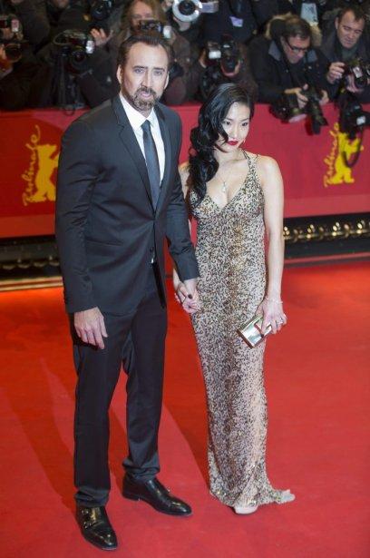 Nicholas Cage et sa femme Alice. | 15 février 2013