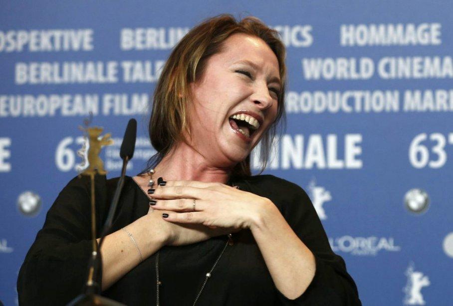 Emmanuelle Bercot, réalisatrice de Elle s'en va. | 15 février 2013