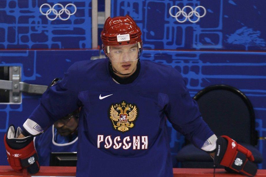Andrei Markov a porté les couleurs de la... (Photo : Shaun Best, Reuters)