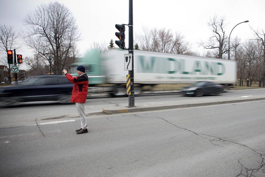 Faute de fonds, le projet de boulevard urbain... (Photo: Ivanoh Demers, archives La Presse)