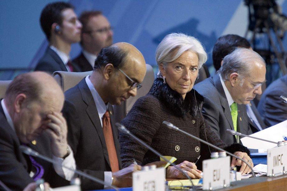La directrice générale du Fonds monétaire international (FMI)... (Photo: AP)