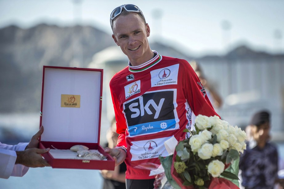 Christopher Froome... (Photo : Jeff Pachoud, AFP)