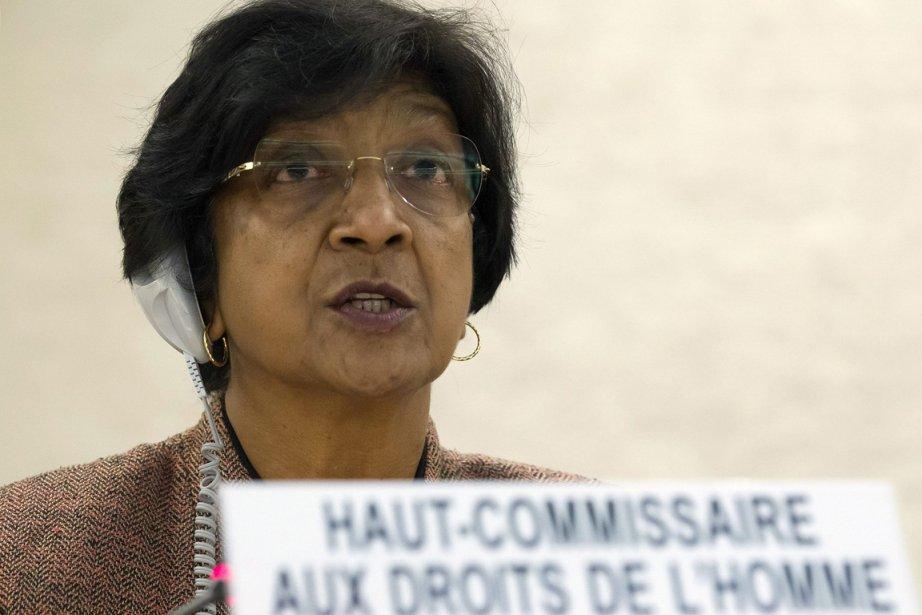 Navi Pillay, Haut commissaire de l'ONU pour les... (Photo Salvatore Di Nolfi, AP)