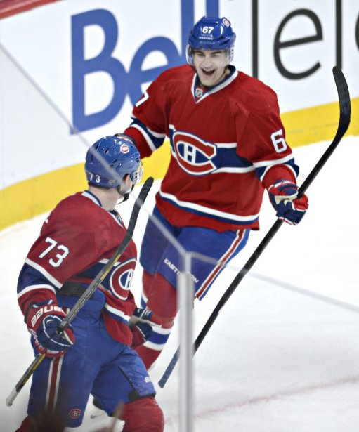 Max Pacioretty et Brendan Gallagher | 16 février 2013
