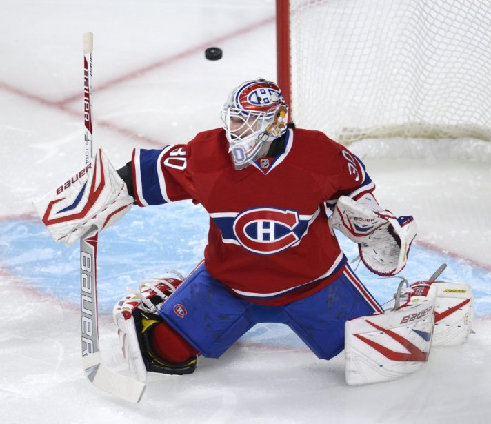 Peter Budaj. (Photo Bernard Brault, La Presse)
