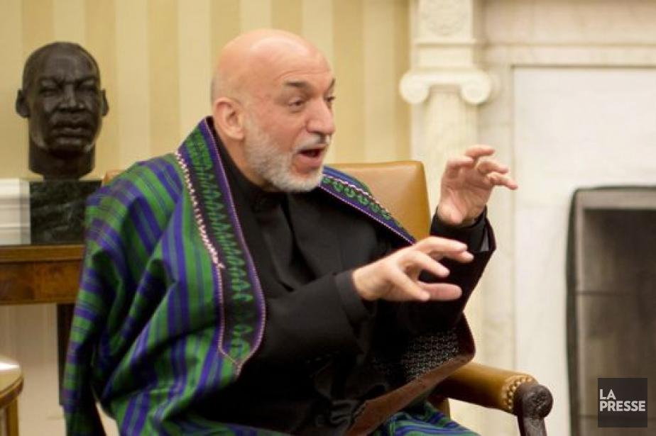 Le président afghan, Hamid Karzaï.... (PHOTO JASON REED, REUTERS)