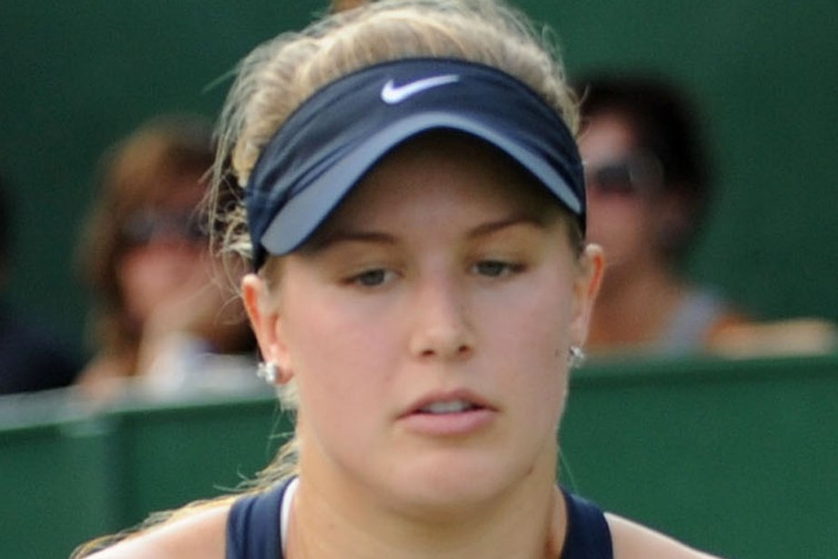 Eugenie Bouchard a perdu contre l'Ukrainienne  Elina... (Photo : Danièle Francis, archives)