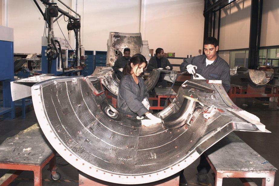 L'industrie aéronautique marocaine compte une centaine de fabricants... (Photo fournie par le groupement des industries marocaines aéronautiques et spatiales)