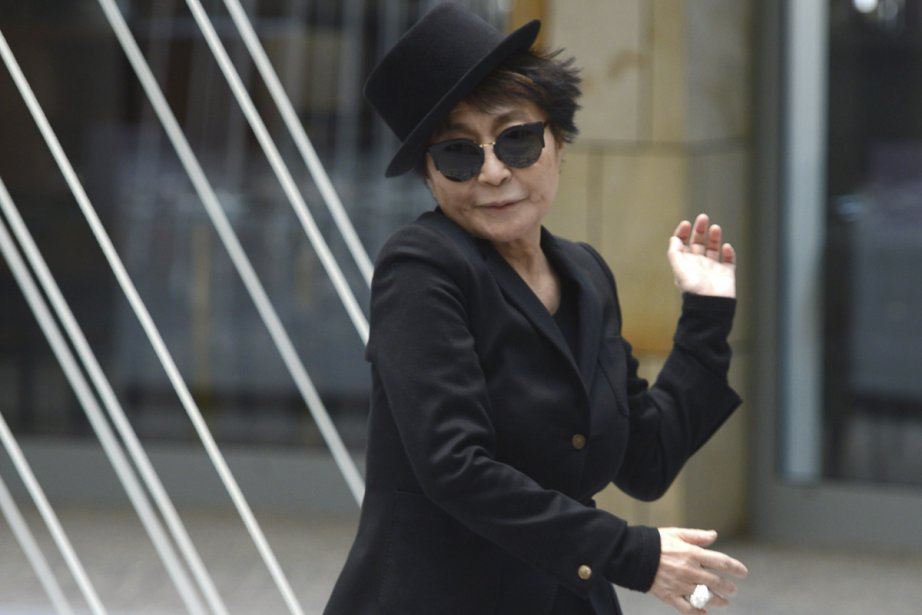 Berlin Qui l'aurait cru? Yoko Ono a 80 ans aujourd'hui.... (Photo: archives AP)