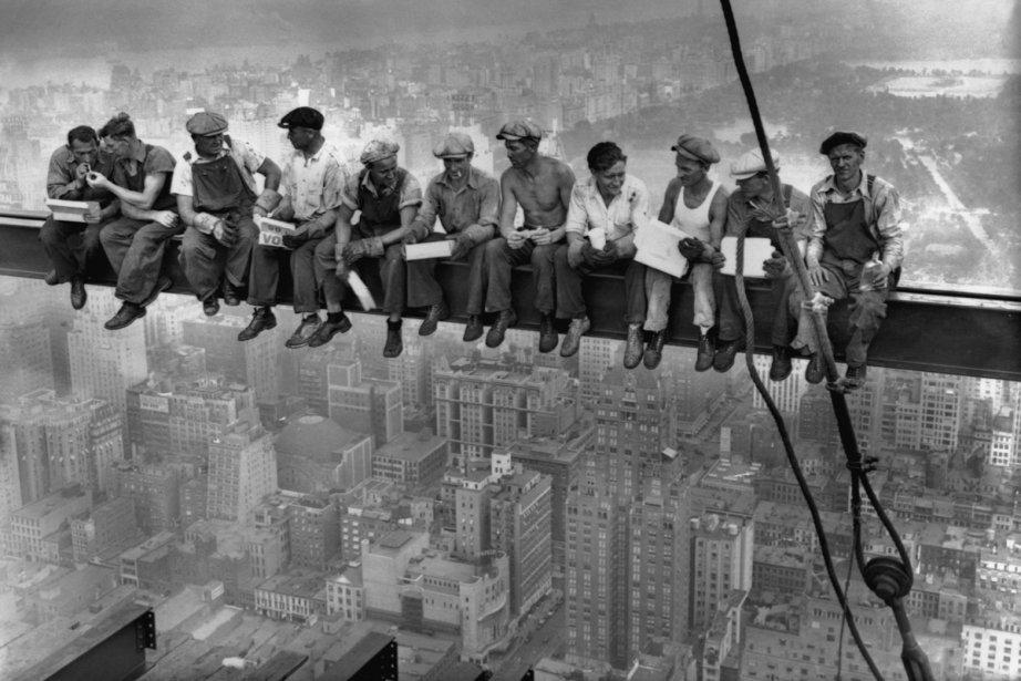 Prise le 20 septembre 1932, la photo Lunch... (Photo: fournie par le Cinéma du Parc)
