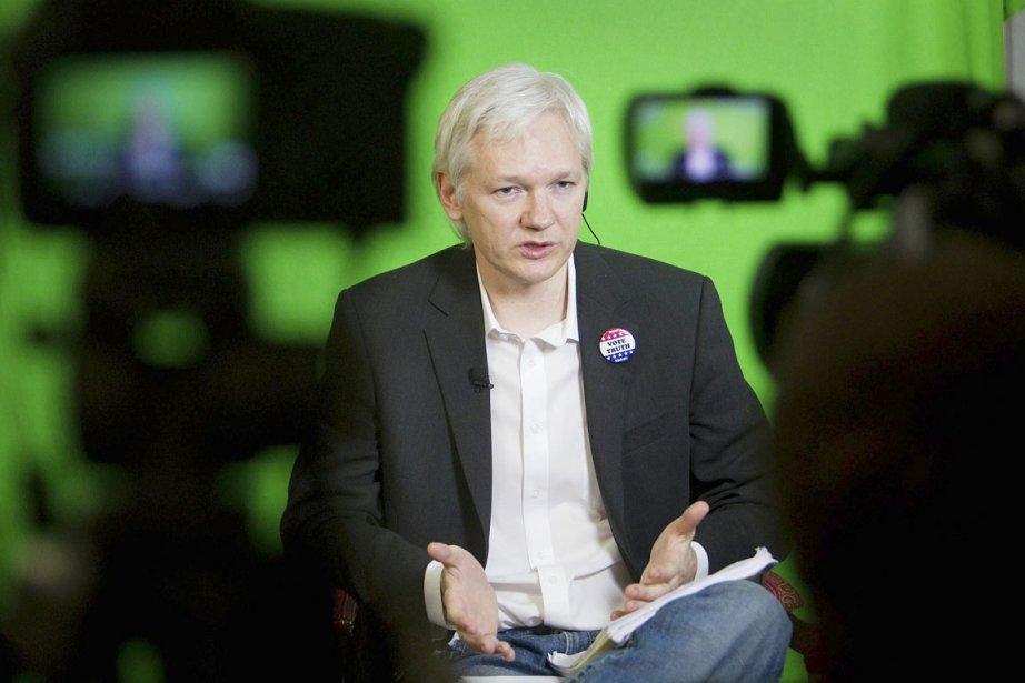 Si Julian Assange remporte un siège au Sénat... (PHOTO PHILIP TOSCANO, AP)