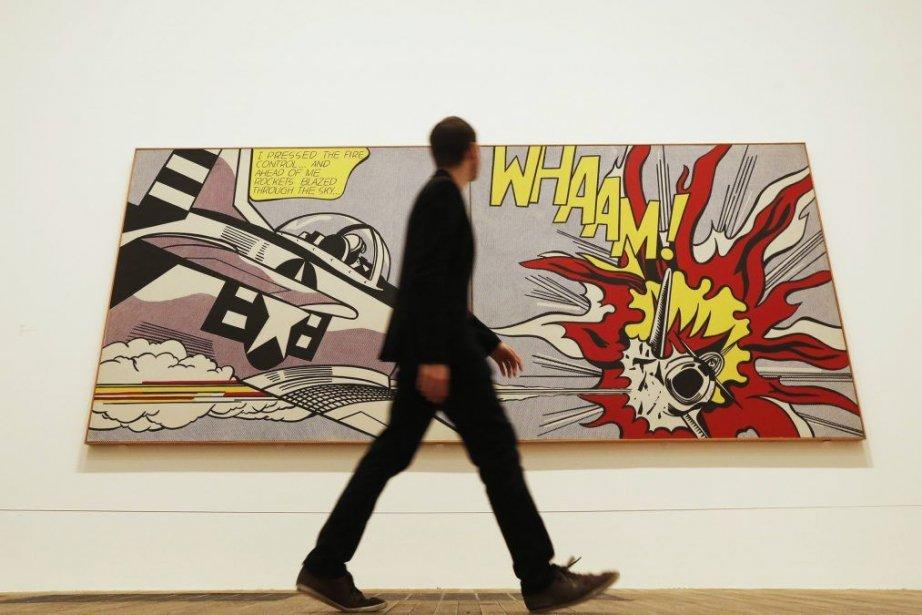 Whaam!, 1963, de Roy Lichtenstein, fait partie de... (Photo: AP)