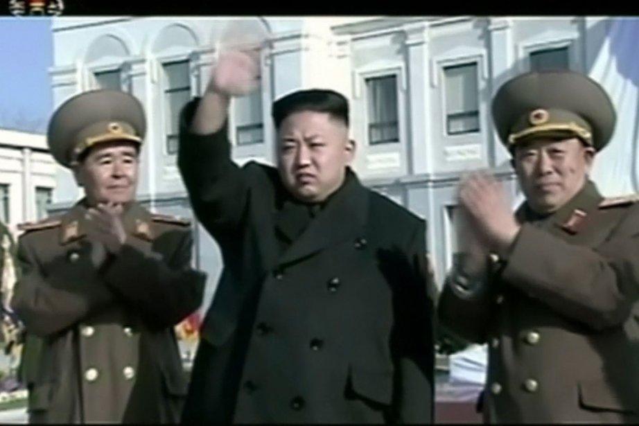 En avril 2013, Pyongyang avait fait monter la... (Photo archives AP)