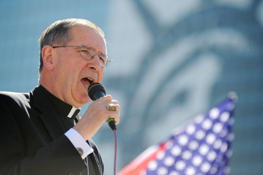 L'ex-archevêque de Los Angeles Roger Mahony est accusé... (PHOTO ROBYN BECK, ARCHIVES AFP)