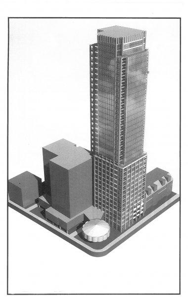 Les gratte-ciel se multiplient le long du boulevard René-Lévesque Ouest.... | 2013-02-19 00:00:00.000
