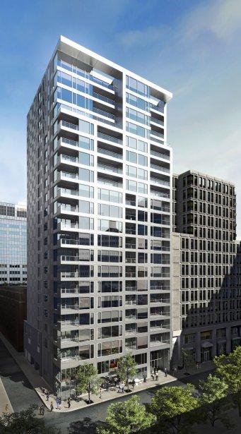 C'est un nouveau départ pour le Triomphe, qui aura 20 étages. | 19 février 2013