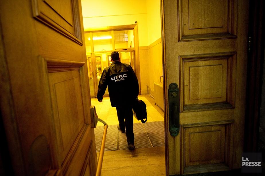 L'Unité permanente anticorruption (UPAC) a... (Photo André Pichette, La Presse)