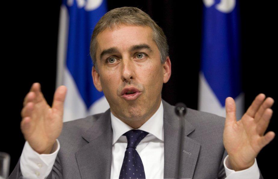 Le ministre des Finances Nicolas Marceau entend garder... (Archives La Presse)