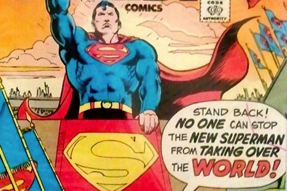 Le super héros né sous le crayon du... (IMAGE THE ATLANTIC.COM)
