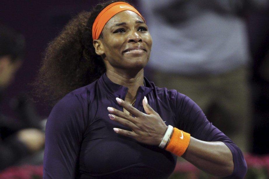 Serena Williams... (Photo Osama Faisal, Associated Press)