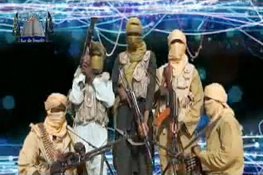 Des membres du groupe islamiste Ansaru.... (IMAGE AFP)