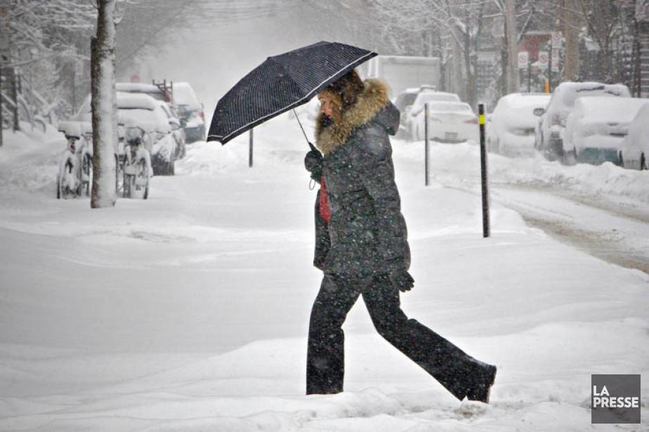 À peine remis d'une tempête de neige qui... (Photo: Patrick Sanfaçon, La Presse)