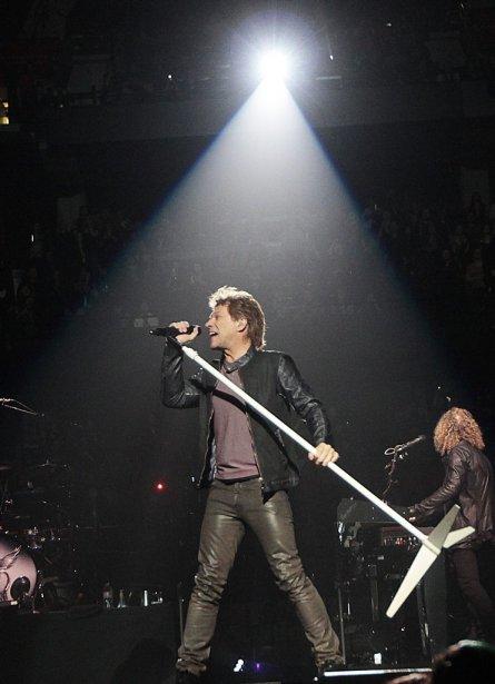 La troupe de Jon Bon Jovi s'est amenée à Ottawa... | 2013-02-21 00:00:00.000