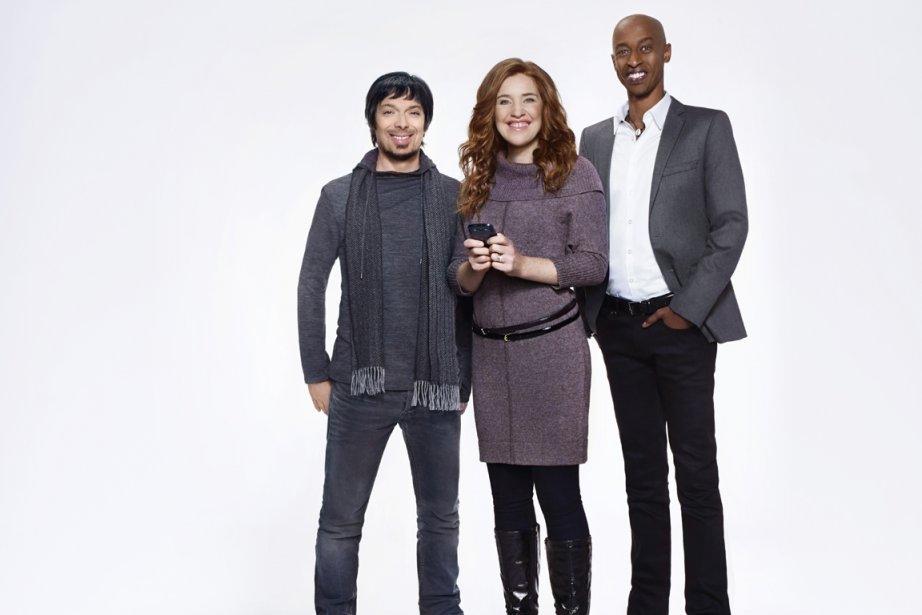 Clara Hughes Hughes (au centre), Stefie Shock (à...